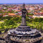 Denpasar City and Tanah Lot Temple